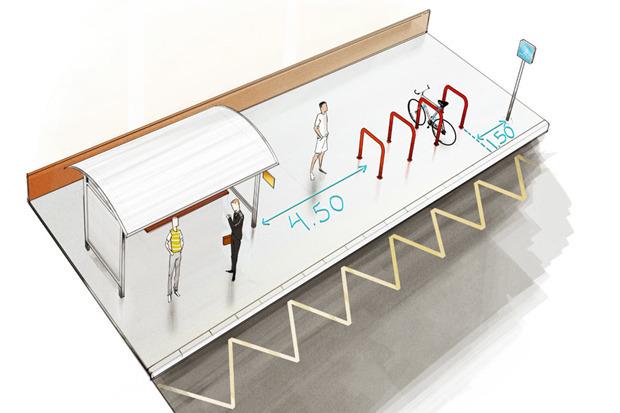 Где разместят 2000 велостоек. Изображение № 5.