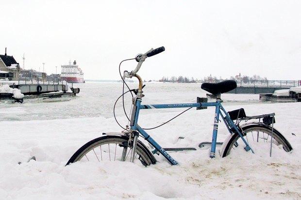 Консультант мэрии финского Оулу — о зимнем велодвижении. Изображение № 12.