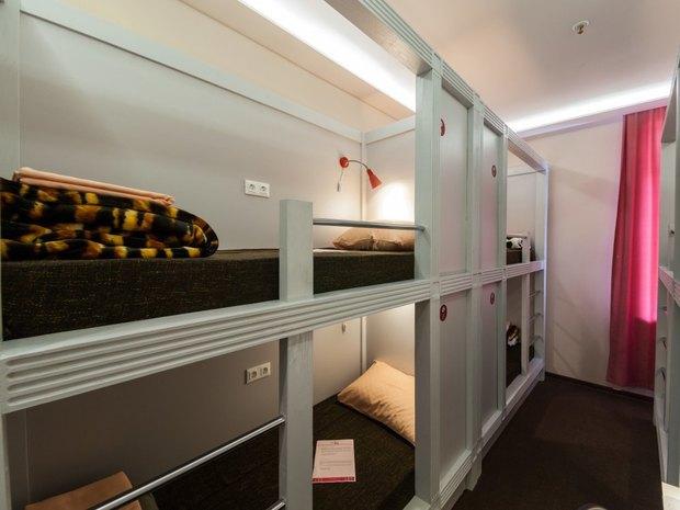 На «Курской» открылся хостел Privet Hostel. Изображение № 2.