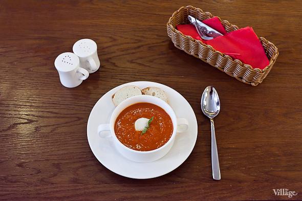Томатный суп — 220 рублей. Изображение №23.