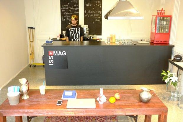 На Большой Дмитровке открылось кафе ISS + MAG. Изображение № 1.