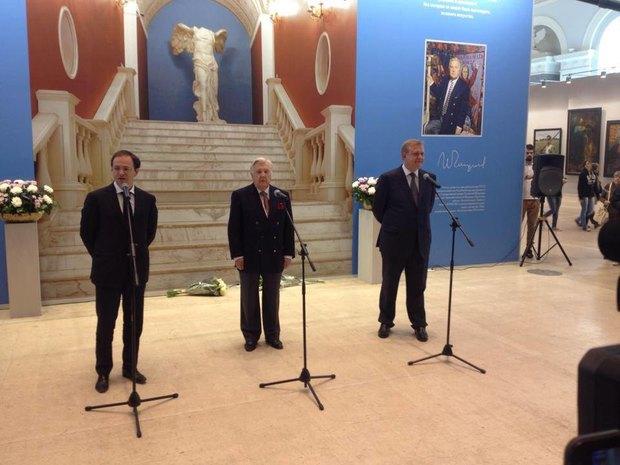 Выставка Ильи Глазунова открылась в«Манеже». Изображение № 1.