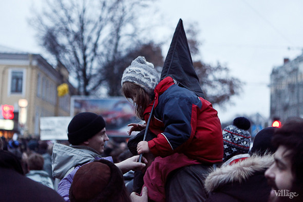 Фоторепортаж: Митинг против фальсификации выборов в Петербурге. Изображение № 27.