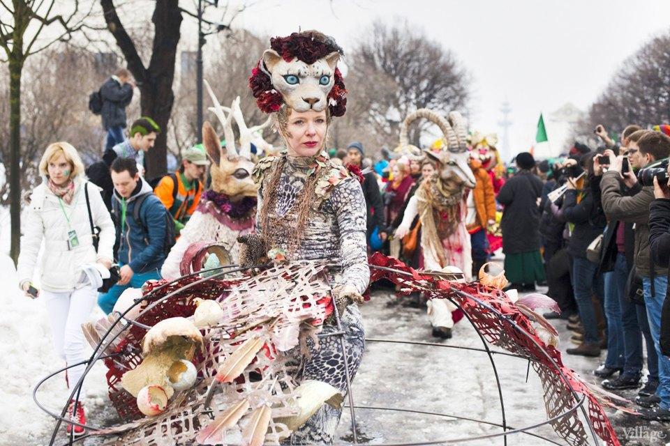Люди в городе: Участники парада вчесть Днясвятого Патрика. Изображение № 1.