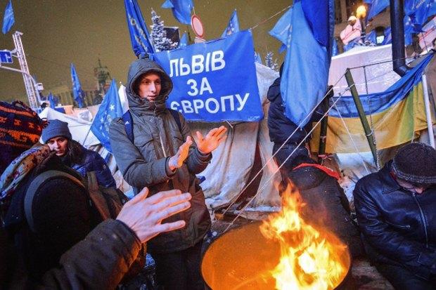 Площадь революции: Евгений Сафонов о том, почему все города должны завидовать Киеву. Изображение № 1.