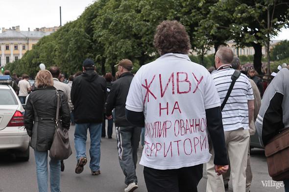 Фоторепортаж (Петербург): Митинг и шествие оппозиции в День России . Изображение № 9.