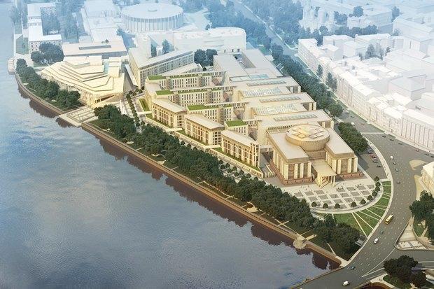 Суд идёт: четыре проекта квартала на месте «Набережной Европы». Изображение №10.