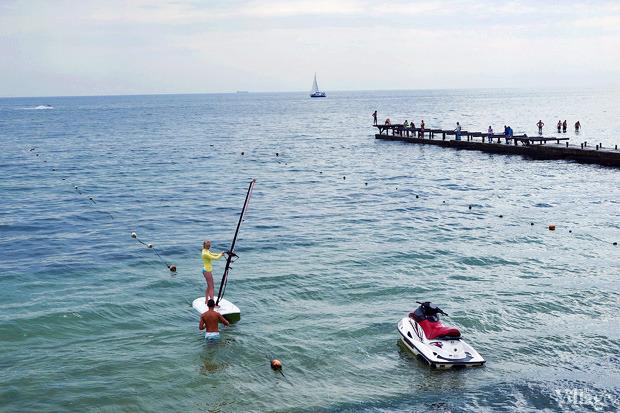 На воде: Виндсёрфинг, вейкбординг и дайвинг в Одессе. Зображення № 4.