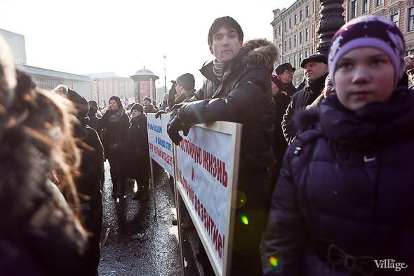 Фоторепортаж: Митинг в поддержку Путина в Петербурге. Изображение № 33.
