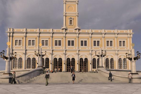 В плане: Реконструкция московских вокзалов. Изображение № 12.