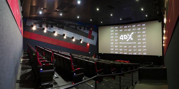 В Москве открывается первый 4DX-кинотеатр. Изображение №1.