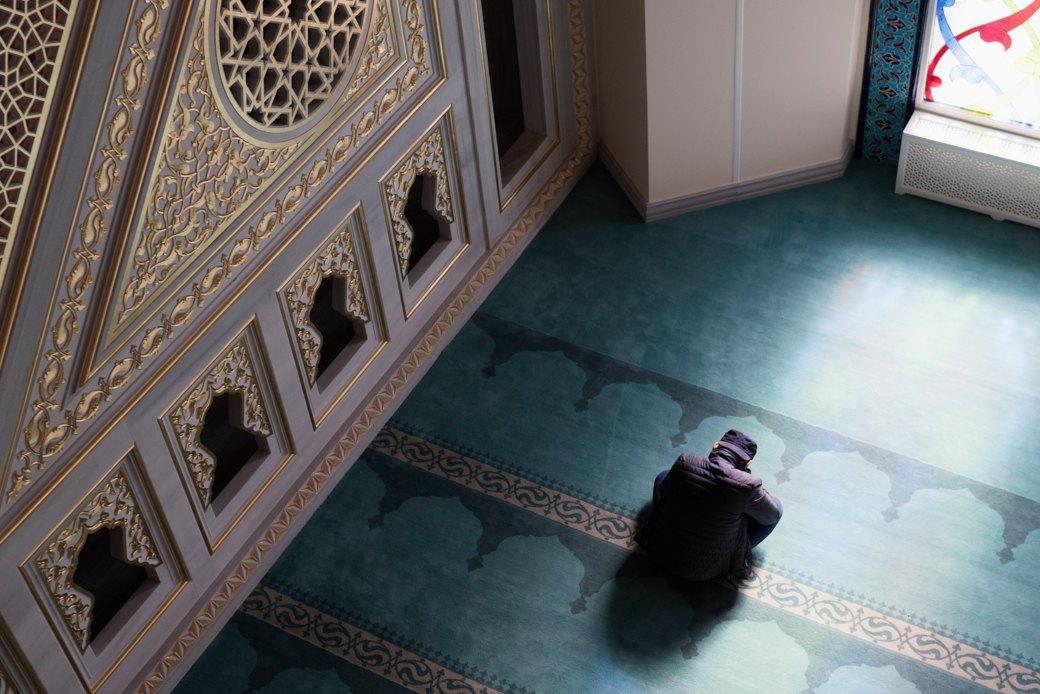 80-метровые минареты иместо для 10тысяч верующих — как выглядит Московская Соборная мечеть. Изображение № 17.