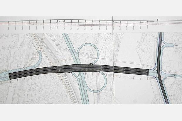 развязки Подольского моста