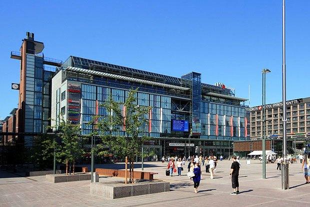 Автовокзал и торговый центр «Камппи» в Хельсинки. Изображение № 1.