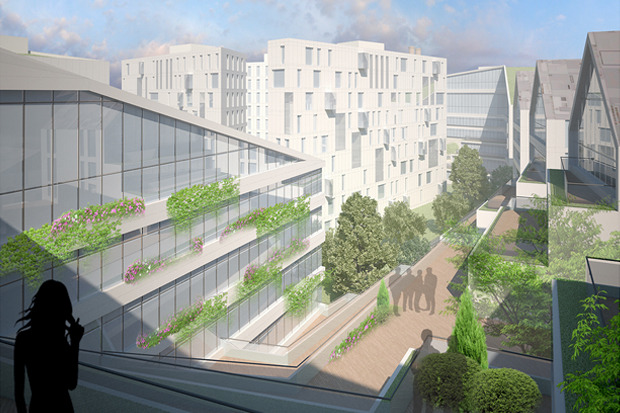 10 проектов квартала около Витебского вокзала . Изображение № 3.