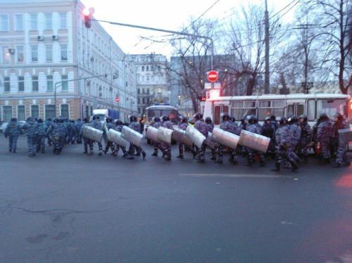 Онлайн-трансляция: Митинги в Москве и Петербурге. Изображение № 36.