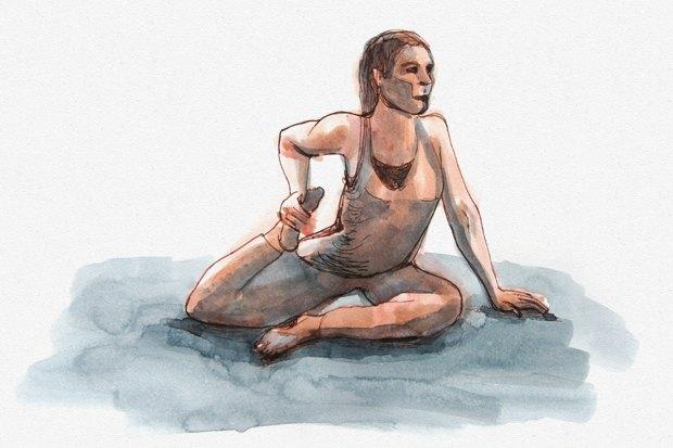 Клуб рисовальщиков: Йога. Изображение №6.