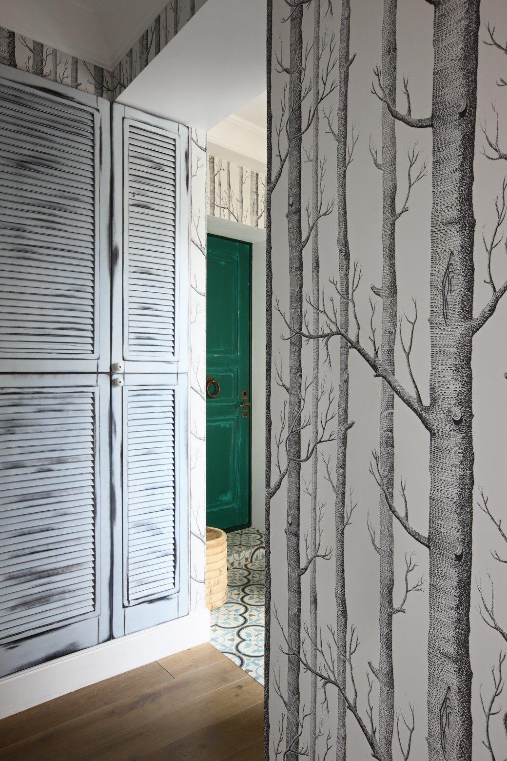 Просторная квартира на Цветном бульваре сбалийскими мотивами. Изображение № 14.