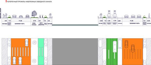Остановку автобусов (отмечена зелёным овалом) перенесут к «Ленте». Изображение № 26.