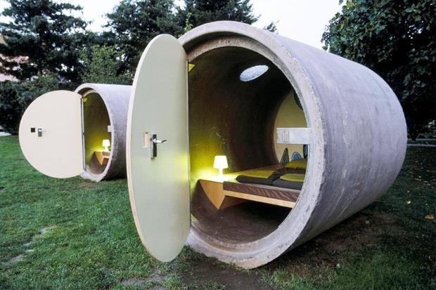 Идеи для города: Гостиницаизбетонныхтруб. Изображение № 5.