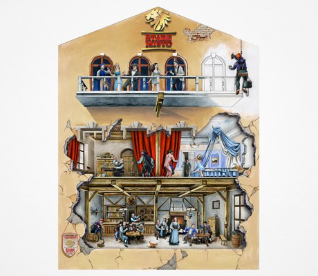 На фасадах нескольких зданий появятся 3D-рисунки. Зображення № 1.