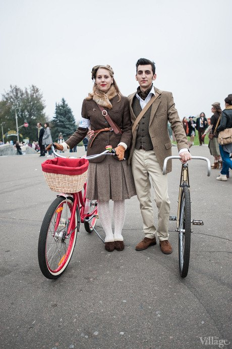 Second Time: В Киеве прошёл второй велокруиз в стиле ретро. Изображение № 61.
