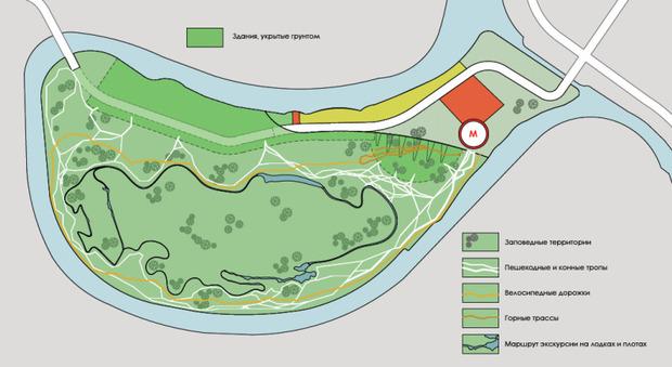 В Мневниках будет парк развлечений, сафари и этнодеревня. Изображение № 13.