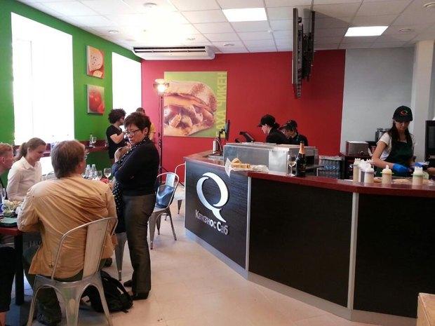 Quiznos Sub открыл два ресторана в Петербурге. Изображение № 1.