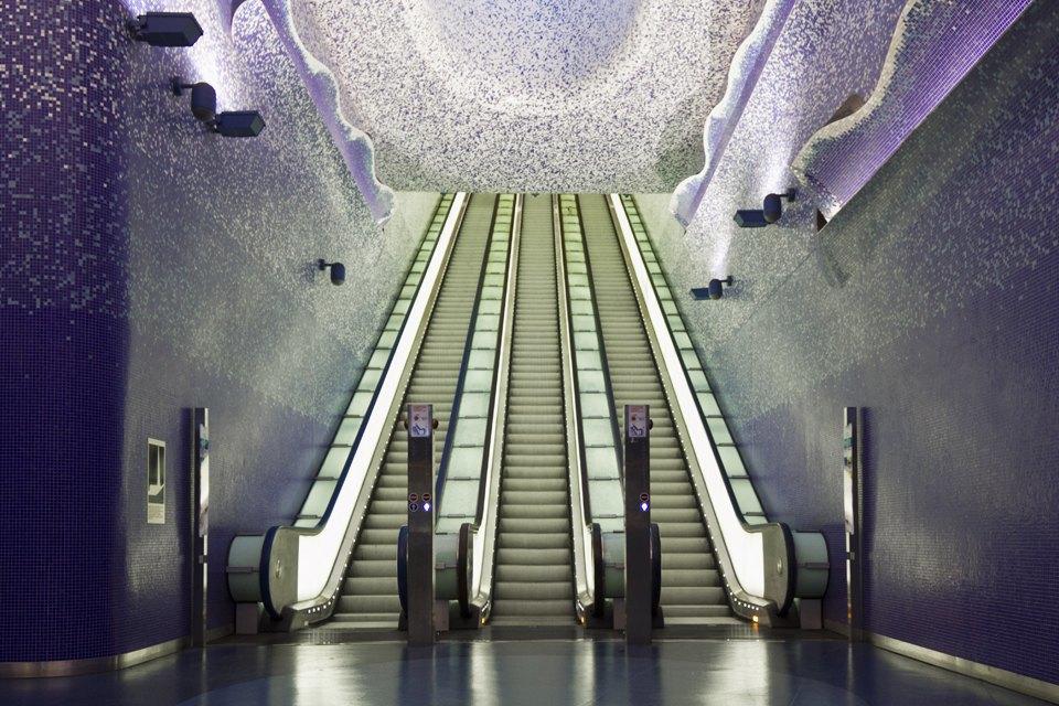 7 самых эффектных зарубежных систем метро. Изображение № 6.