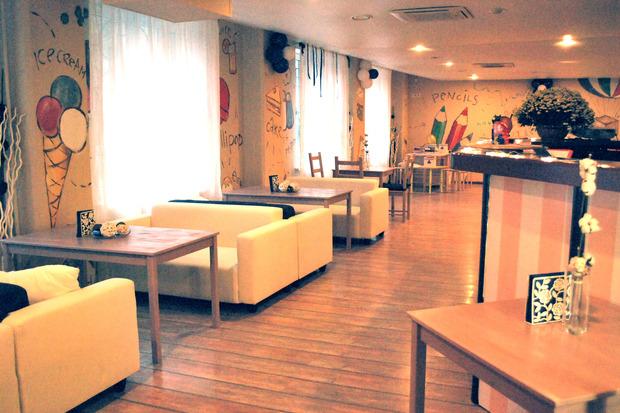 На «Первомайской» открылось кафе Indigo. Изображение № 2.