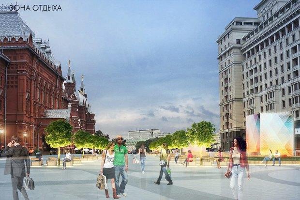 Wowhaus разработали проекты реконструкции московских площадей. Изображение № 5.