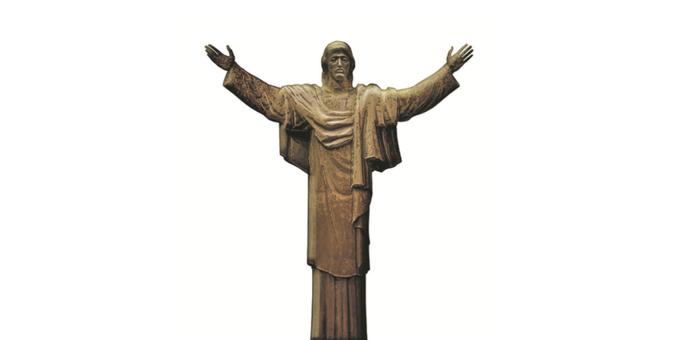 Скульптура Иисуса Христа из публикации «Комсомольской правды». Изображение № 1.