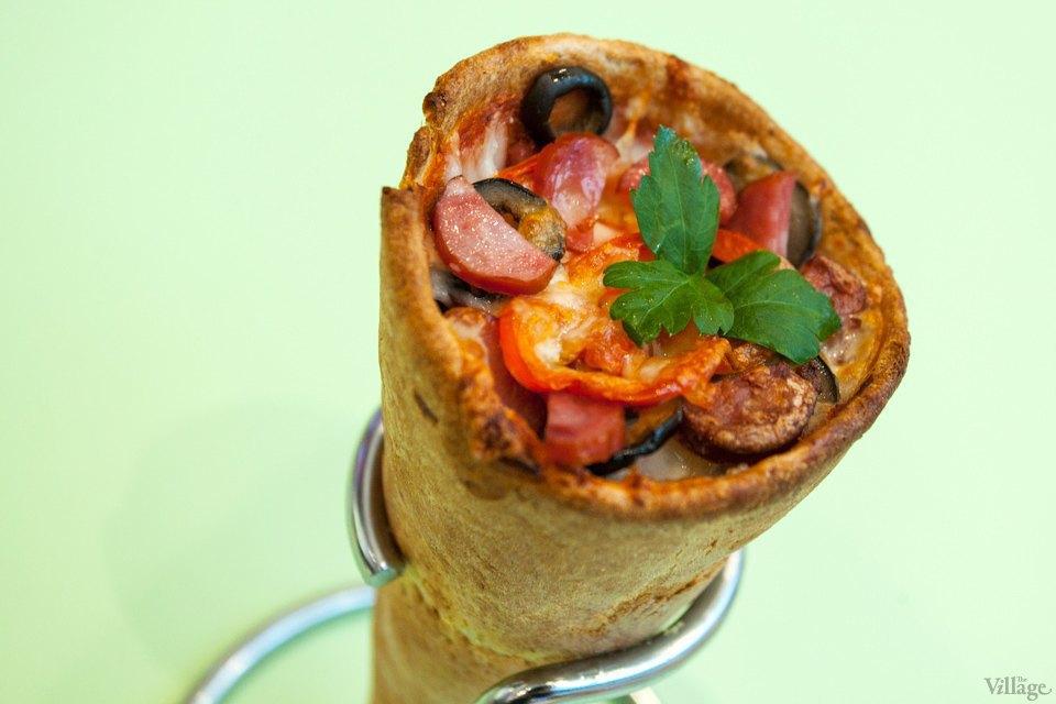 Пицца с телятиной, грибами и сыром — 22 грн.. Изображение № 31.