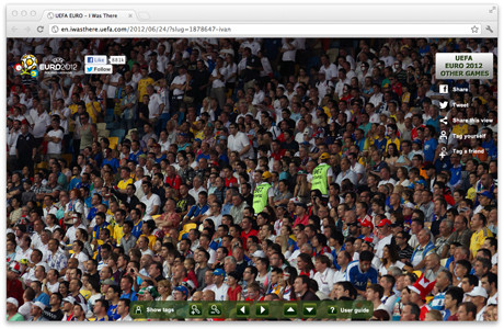 УЕФА предлагает отметить себя на интерактивной фотографии с Евро-2012. Изображение № 5.