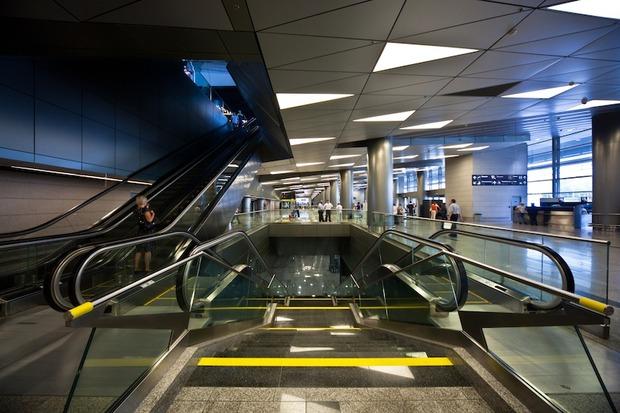 Во Внукове открылась вторая очередь нового терминала. Изображение № 1.