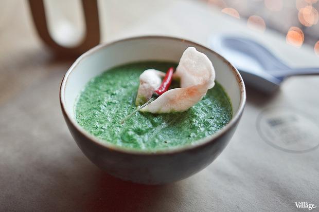 Крем-суп из шпината на кокосовом молоке — 150 рублей. Изображение № 22.