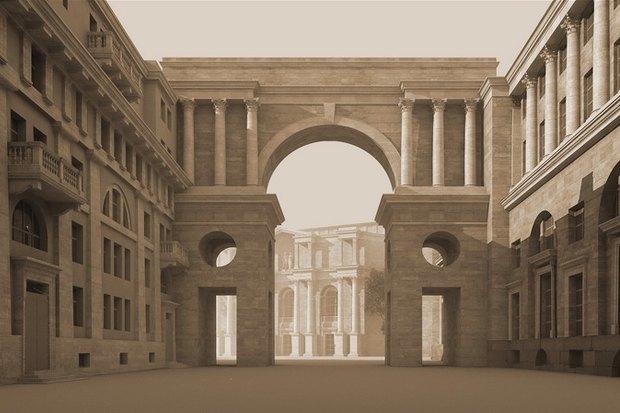Суд идёт: четыре проекта квартала на месте «Набережной Европы». Изображение № 9.