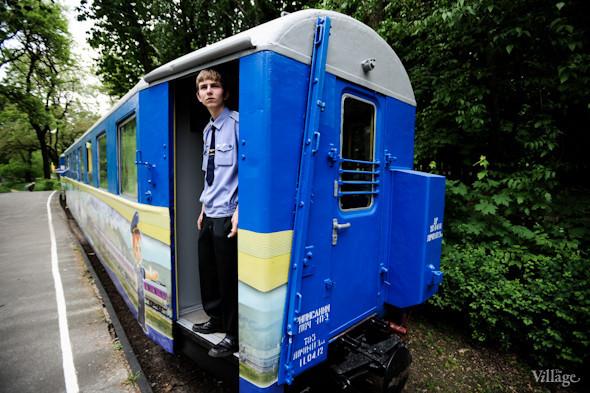 Фоторепортаж: В Киеве открылся сезон на детской железной дороге. Зображення № 41.