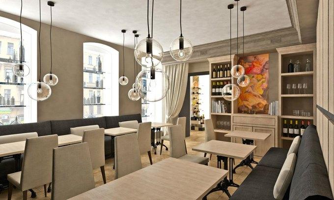 На Жуковского открылся винный бар Molto Buono. Изображение № 2.