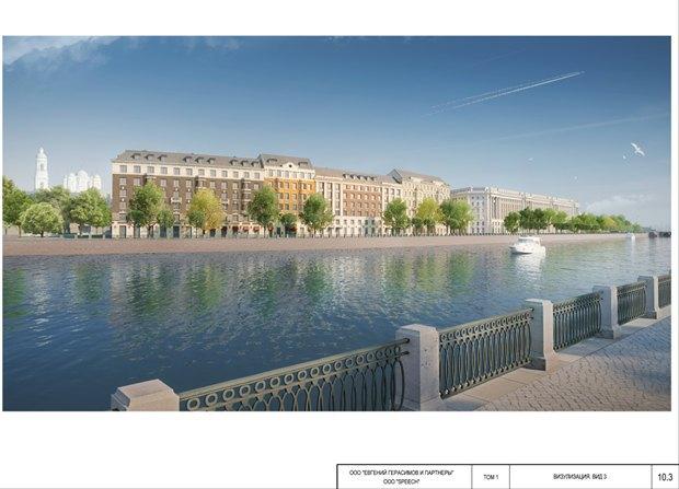 СМИ опубликовали часть нового проекта судебного квартала наПетроградской стороне. Изображение № 4.
