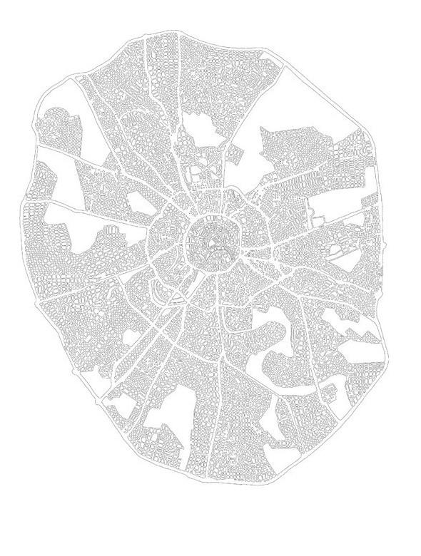 Как бы выглядела Москва, если бы количество дорог приблизилось к нормативам Европы. Изображение № 9.