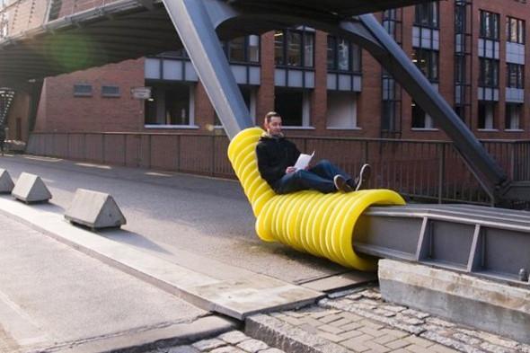 Идеи для города: Мебель из труб в Гамбурге. Изображение № 9.