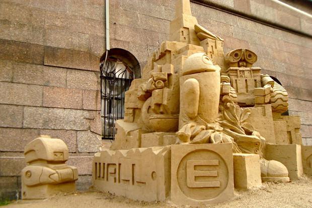 На пляже Петропавловки в выходные начнут строить песчаные скульптуры . Изображение № 2.