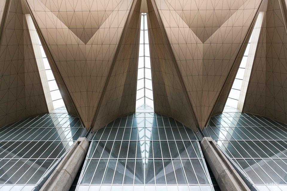 Фоторепортаж: Новый аэропорт изнутри. Изображение № 3.