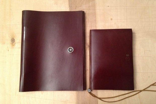 Кожаные блокноты NB. Изображение № 7.