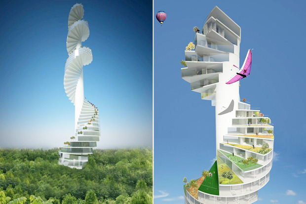 Иностранный опыт: 8 фантастических городских проектов. Изображение № 14.