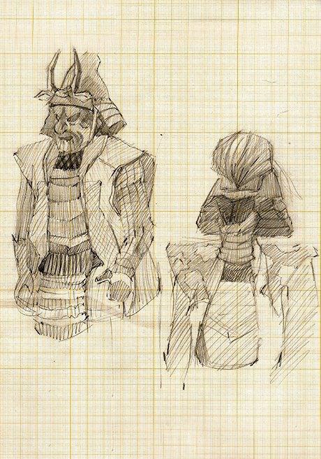 Клуб рисовальщиков: Выставка «Самураи. 47ронинов». Изображение № 3.