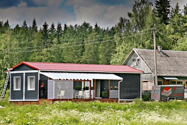 Дома на «Приладожской» базе. Изображение № 4.