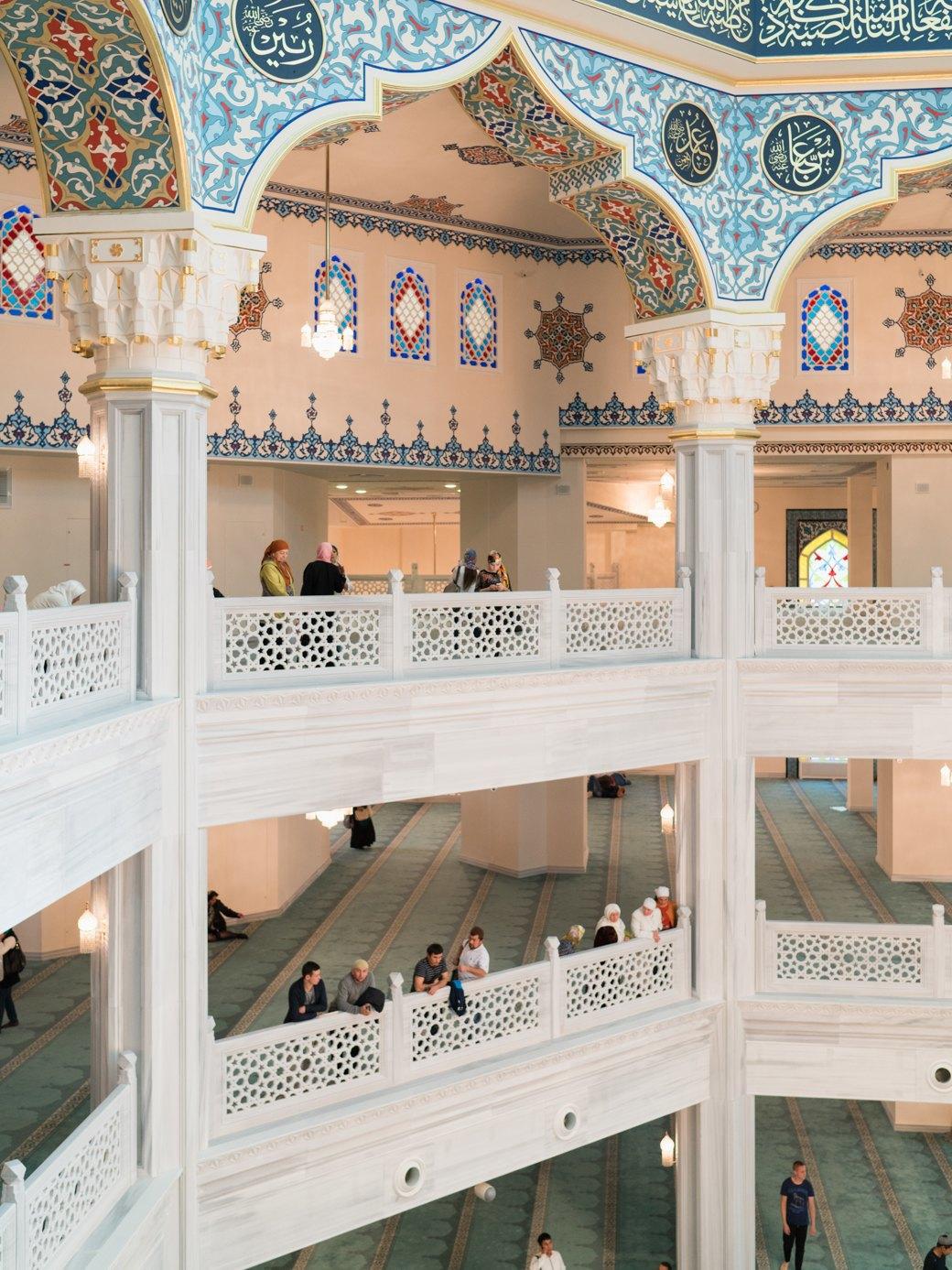 80-метровые минареты иместо для 10тысяч верующих — как выглядит Московская Соборная мечеть. Изображение № 10.