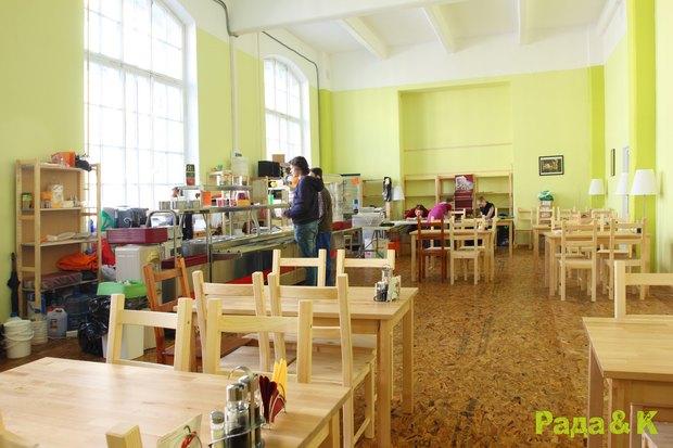 Открылось третье вегетарианское кафе «Рада и К». Изображение № 1.
